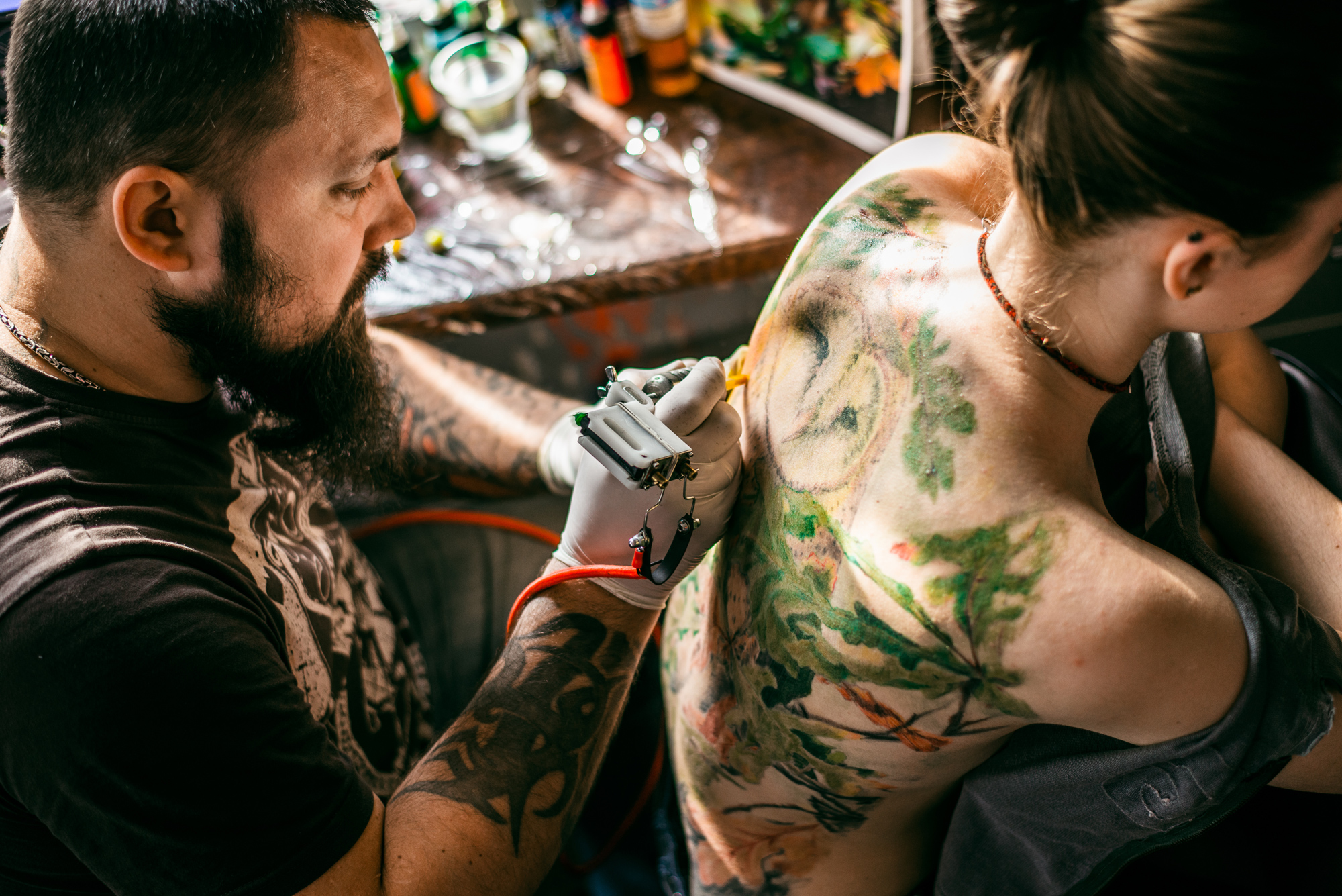 Watercolor tattoos do they really fade faster for Arguments against tattoos
